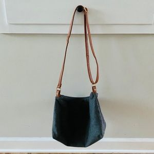 Target A+ Women's Gray Wool Crossbody Bag NWOT